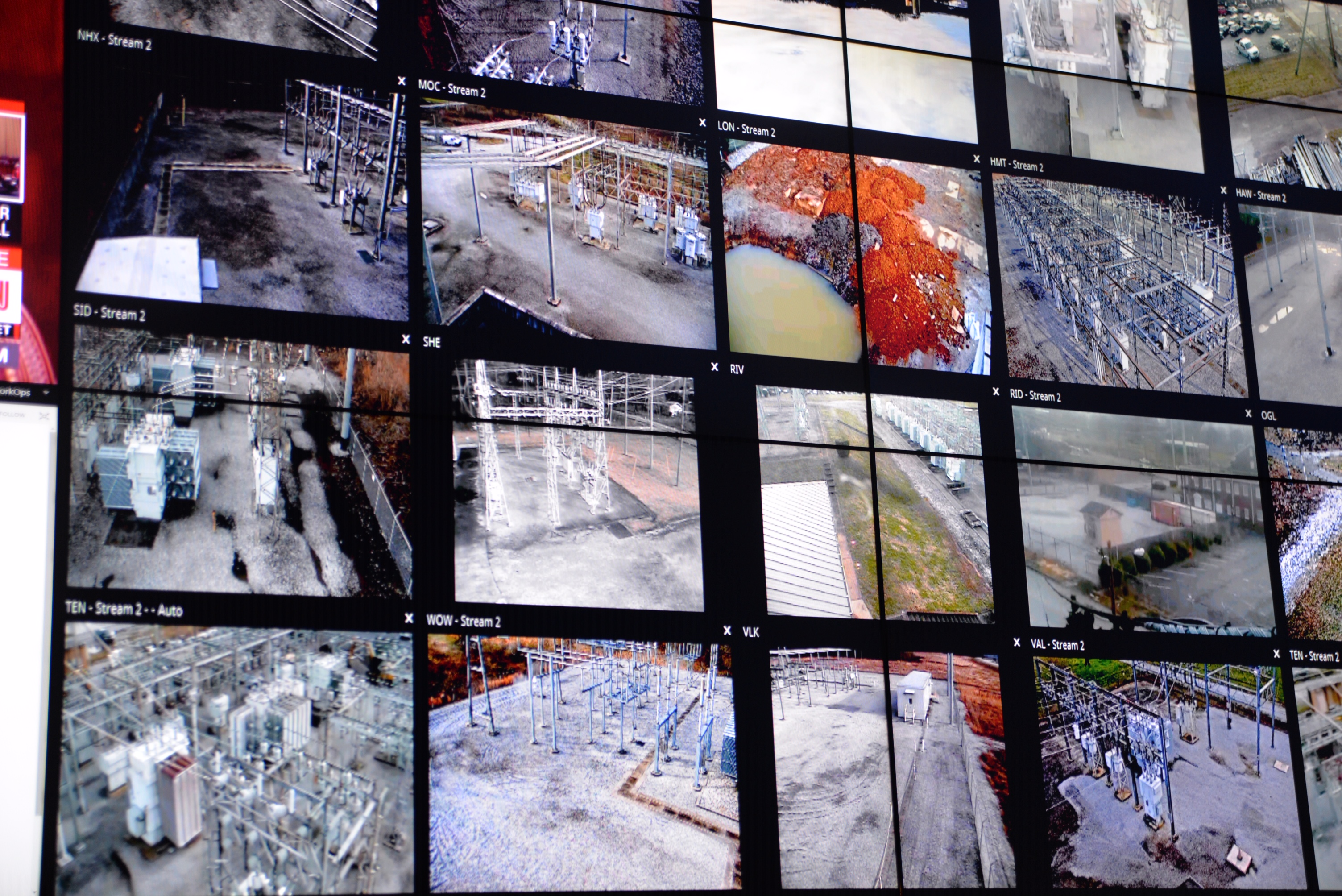 The EPB Control Center monitors the company's assets such as substations and buildings.