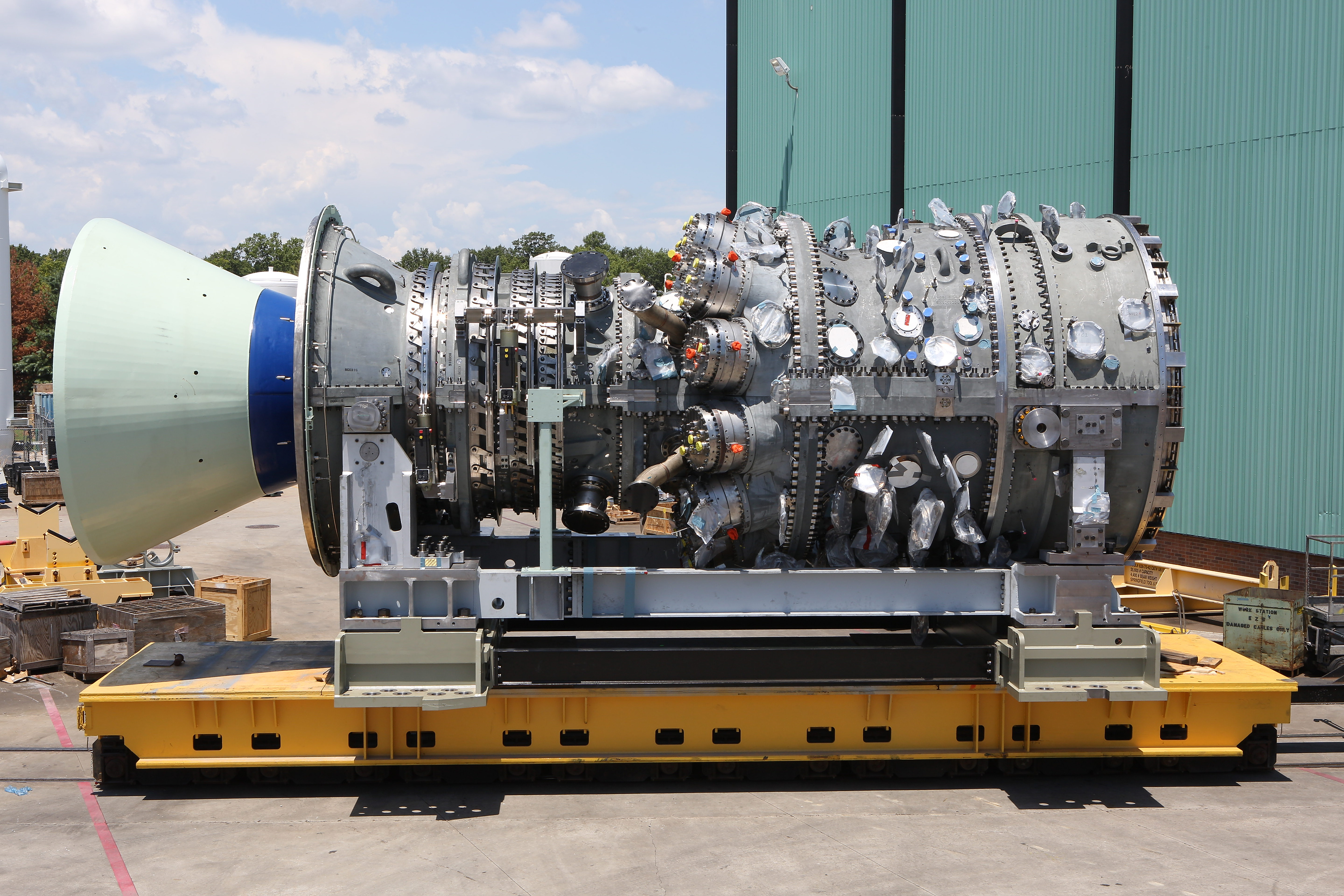 OLCF Helps GE Deliver Next Generation Gas Turbines