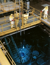 The High Flux Isotope Reactor at DOE's Oak Ridge National Laboratory is one of only two sources of californium-252 in the world.