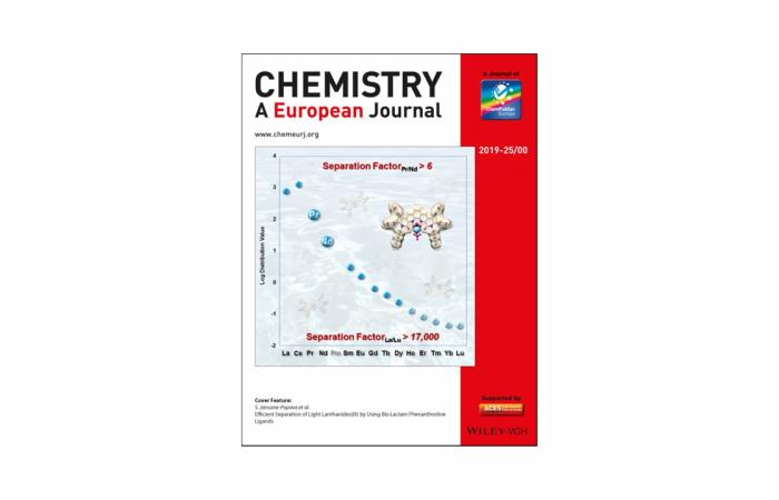 Journal Cover - Chemistry A European Journal