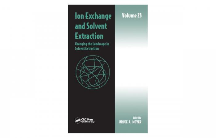 Ion Exchange and Solvent Extraction Volume 23 Book Cover