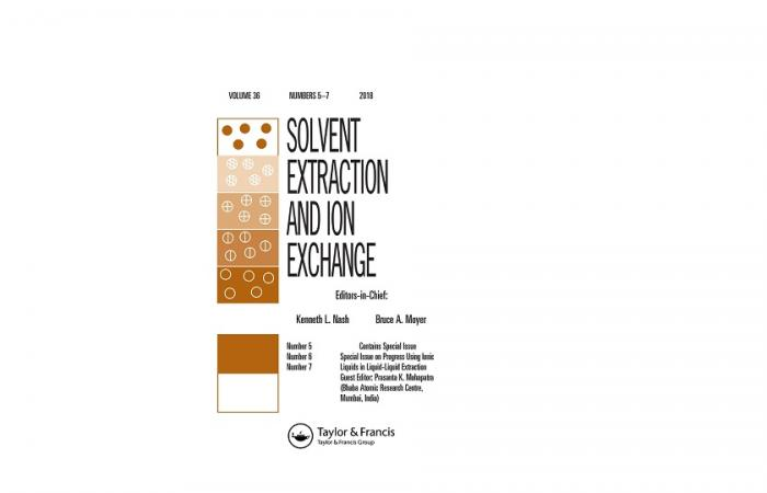 Journal Cover - Solvent Extraction and Ion Exchange