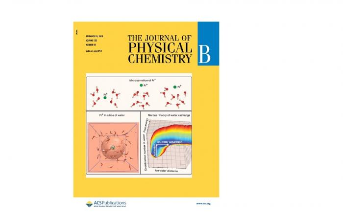 Journal Cover - The Journal of Physical Chemistry B