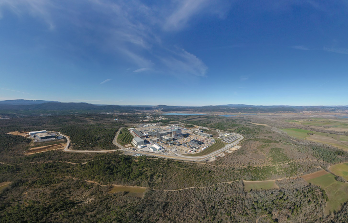 The international ITER facility is now under construction in rural southern France, about 1 hour north of Marseille. Photo: ITER Organization