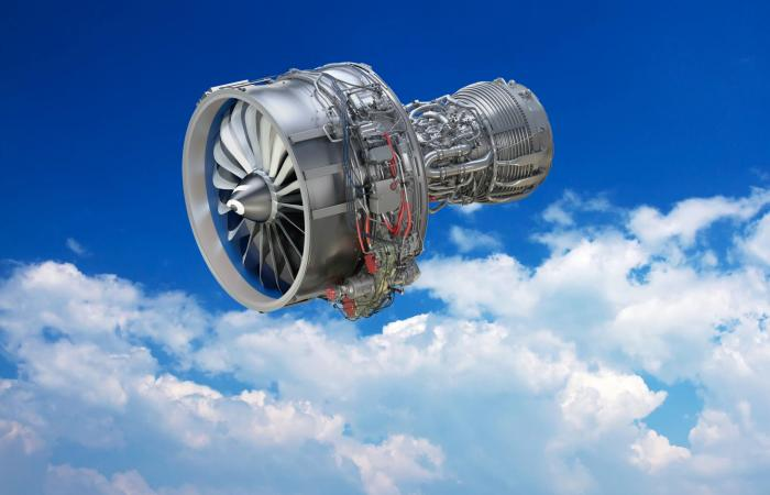 Advanced materials take flight in the LEAP engine, featuring ceramic matrix composites developed over a quarter-century by GE with help from DOE and ORNL. Image credit: General Electric
