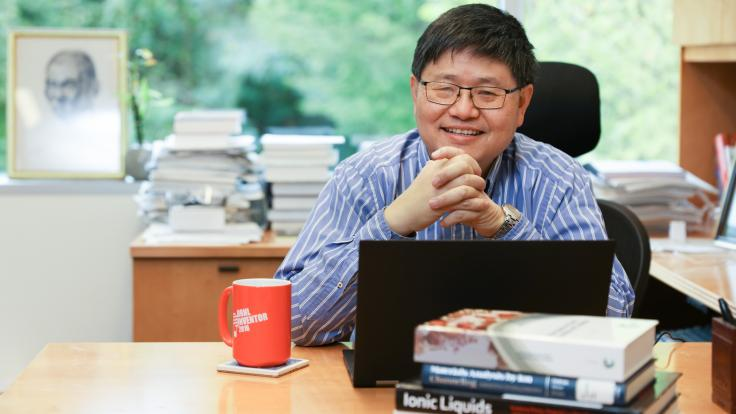 Sheng Dai innovates chemical separations, nanomaterials synthesis, and catalytic interfaces for energy applications at Oak Ridge National Laboratory, and is the lab's most prolific author.