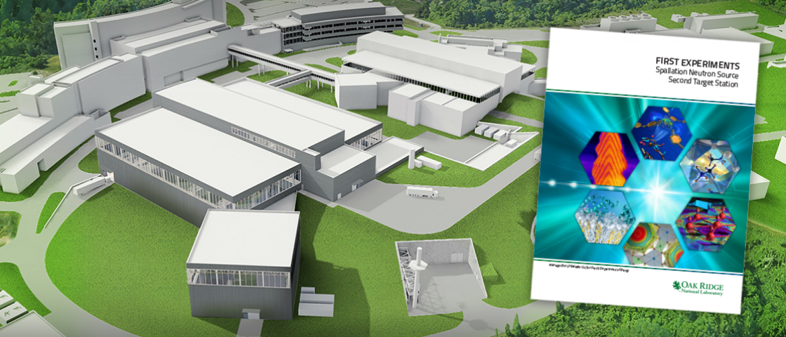 The DOE has approved the release of a report on the neutron research capabilities planned for the Second Target Station to be built at Oak Ridge National Laboratory's Spallation Neutron Source. Credit: ORNL/Jill Hemman