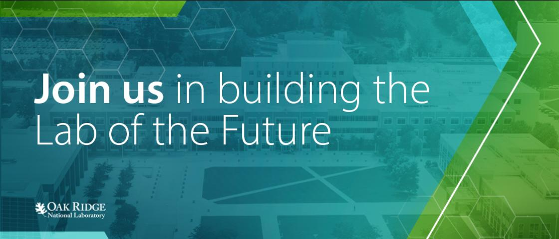 Join us in building the lab of the future