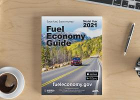 The 2021 Fuel Economy Guide, compiled by ORNL researchers, provides tips for keeping fuel costs down and helps consumers find the most fuel-efficient vehicle. Credit: ORNL/U.S. Dept. of Energy