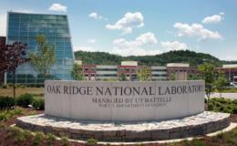 Oak Ridge National Laboratory entrance sign