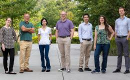 Caption: Seven ORNL researchers have received Early Career Research Program awards from the Department of Energy's Office of Science. Credit: Carlos Jones/Oak Ridge National Laboratory, U.S. Dept. of Energy