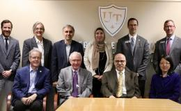 "Representatives from The University of Toledo and the U.S. Department of Energy's Oak Ridge National Laboratory (ORNL) in Tennessee are teaming up to conduct collaborative automotive materials research."" Credit: University of Toledo"