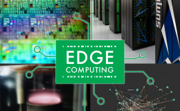 Edge computing is both dependent on and greatly influencing a host of promising technologies including (clockwise from top left): quantum computing; high-performance computing; neuromorphic computing; and carbon nanotubes.