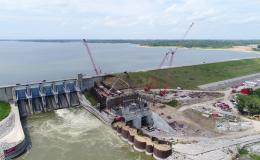 The latest data show hydropower represents 6.6% of all electricity generated and 38% of electricity from renewables produced in the United States. Pictured is the Red Rock Hydroelectric Project in Marion County, Iowa. Credit: Missouri River Energy Services