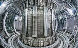 For the first time in 25 years, scientists will use deuterium and tritium to create a plasma inside the chamber of the Joint European Torus in the United Kingdom to study nuclear fusion. As in the earlier experiments, diagnostics systems developed by ORNL will play a key role in monitoring the plasma. Credit: EUROfusion