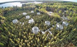A team of scientists found that microbes at the SPRUCE experiment in the Minnesota peatlands are increasing production of methane under warming conditions. Credit: ORNL, U.S. Dept. of Energy