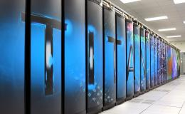 Scientists will use ORNL's computing resources such as the Titan supercomputer to develop deep learning solutions for data analysis. Credit: Jason Richards/Oak Ridge National Laboratory, U.S. Dept. of Energy.
