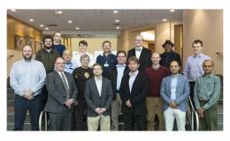 Symposium attendees represented ORNL, the University of Arizona, Georgia Tech, the University of Tennessee-Knoxville, and Brigham Young University.