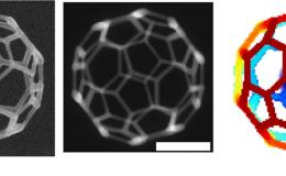 A 32-face 3-D truncated icosahedron mesh was created to test the simulation's ability to precisely construct complex geometries.