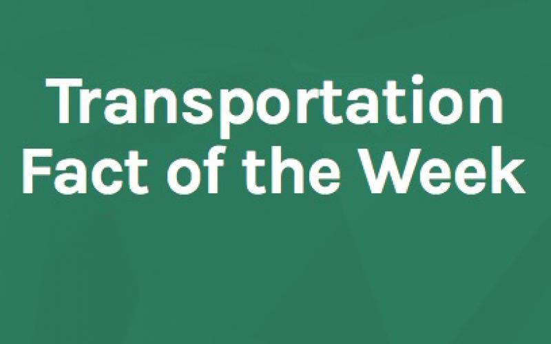 Transportation Fact of the Week