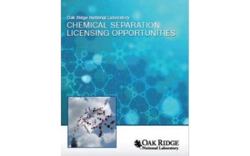 Chemical Separation Licensing Opportunities cover
