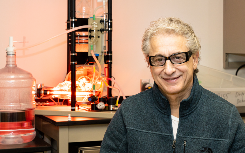 John Katsaras's advances in technique, instrument and sample development for neutron and x-ray scattering have helped answer science questions about biological membranes.
