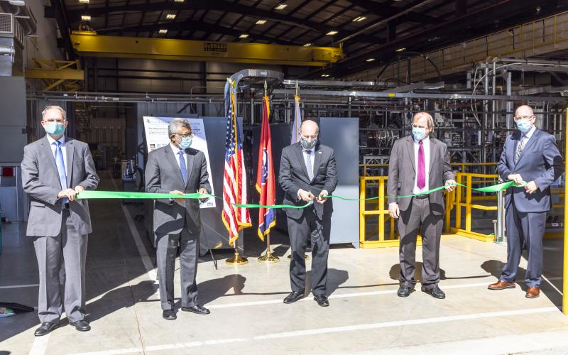 MPEX ribbon cutting