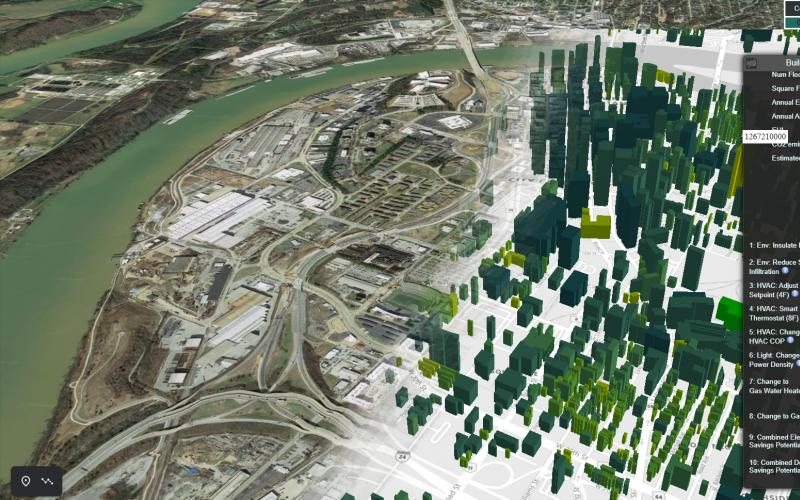 Oak Ridge National Laboratory's software suite, AutoBEM, creates a digital twin of the nation's 129 million buildings, providing an energy model that can help utilities and owners make informed decisions on how to best improve energy efficiency.