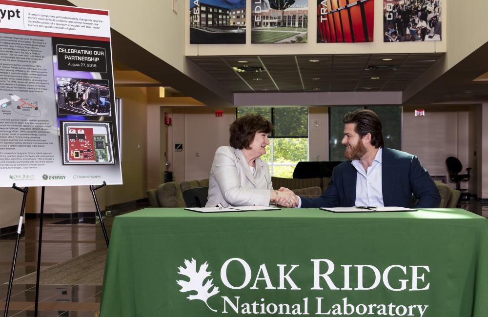 Qrypt licenses ORNL's quantum random number generator to
