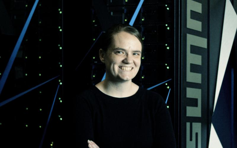 ORNL Liane B. Russell Early Career Fellow Katie Schuman is studying how to put the theory of biologically inspired computing into practice.