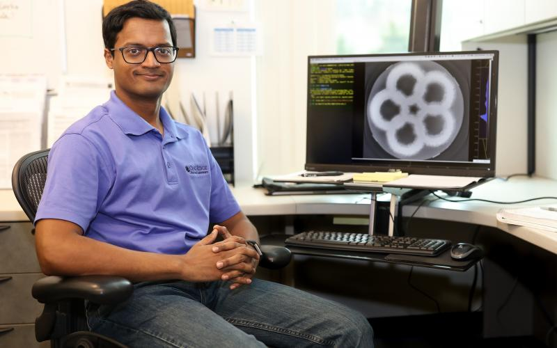 "Singanallur ""Venkat"" Venkatakrishnan is a Wigner Fellow in the Imaging, Signals, and Machine Learning Group at ORNL."