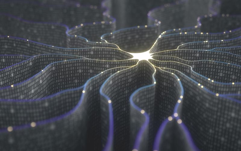 Inspired by the brain's web of neurons, deep neural networks consist of thousands or millions of simple computational units.