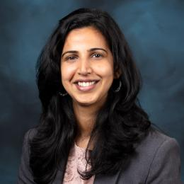 Portrait of Supriya Chinthavali