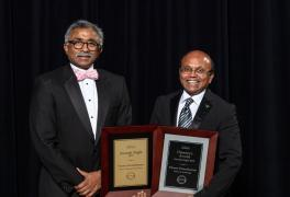 ORNL's Parans Paranthaman was named top scientist at the lab's annual Awards Night.